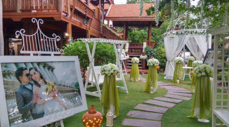 เรือนไทยสำหรับจัดงานแต่งงาน เกษตร นวมินทร์